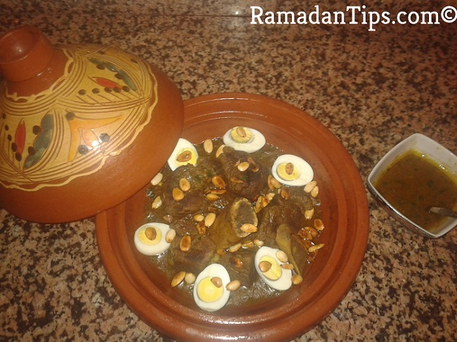 Slow Cooked Lamb Tagine Moroccan Recipe
